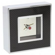 Stratton of Mayfair Carbon mantel clock