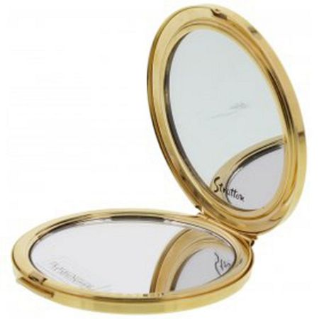 Stratton of Mayfair Strawberry thief dual mirror