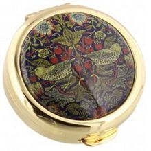 Stratton of Mayfair Coll pill box 40mm strawberry thief