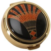 Stratton of Mayfair Coll pill box 40mm art deco