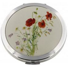 Stratton of Mayfair Poppy Compact Convertible mirror