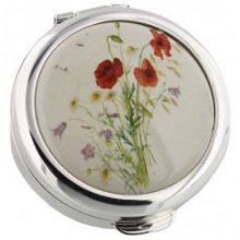 Stratton of Mayfair 40mm pill box poppy