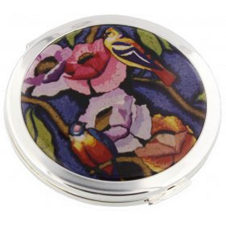 Stratton of Mayfair V&A Exotic Birds Powder Compact 70mm