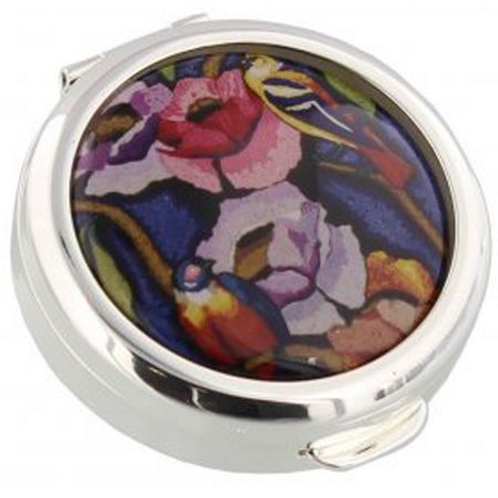 Stratton of Mayfair V&a exotic birds pill box 40mm
