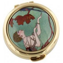 Stratton of Mayfair V&a fashion plate pill box 40mm