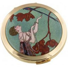 Stratton of Mayfair V&A Fashion Plate Powder Compact