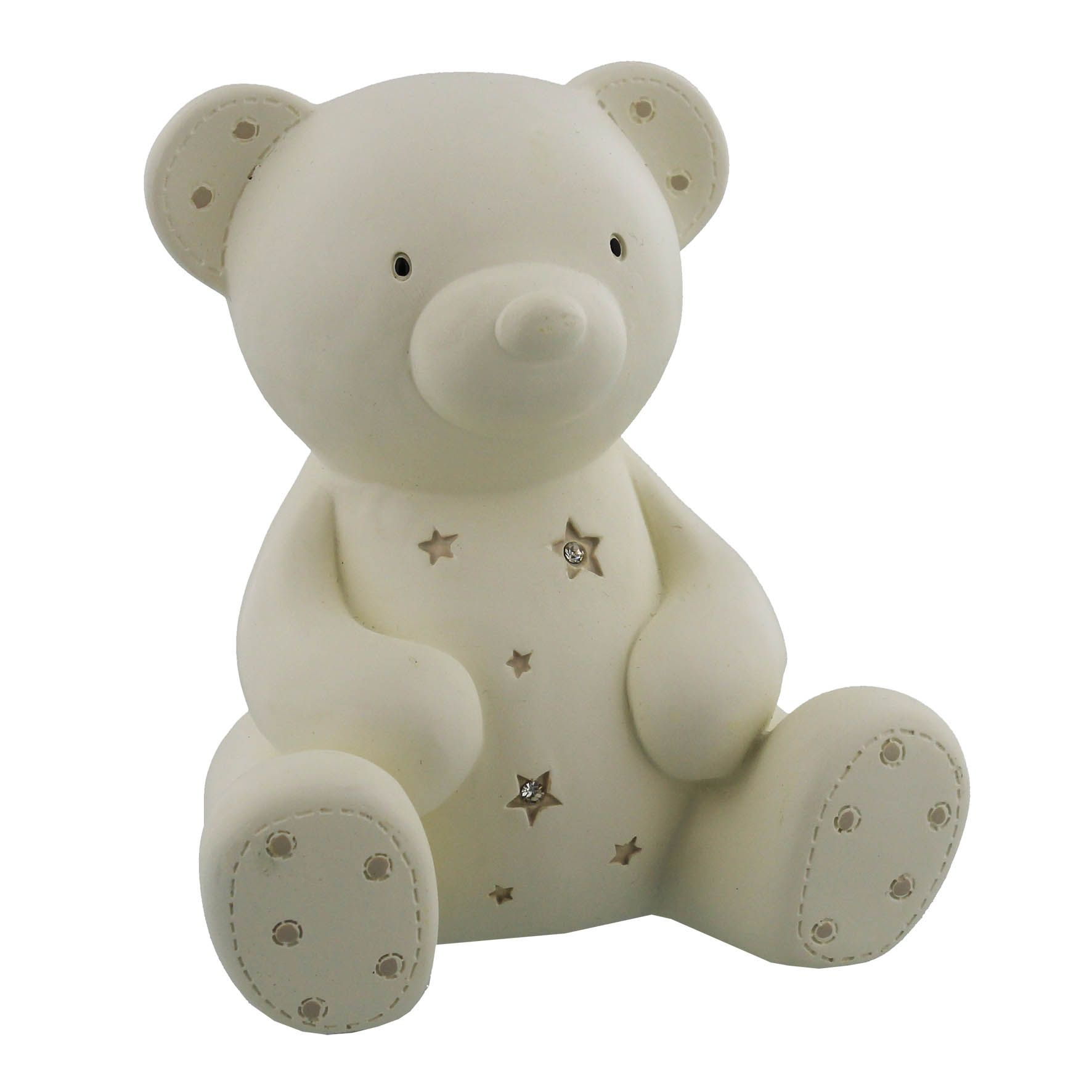 Bambino Bambino Resin money bank - teddy