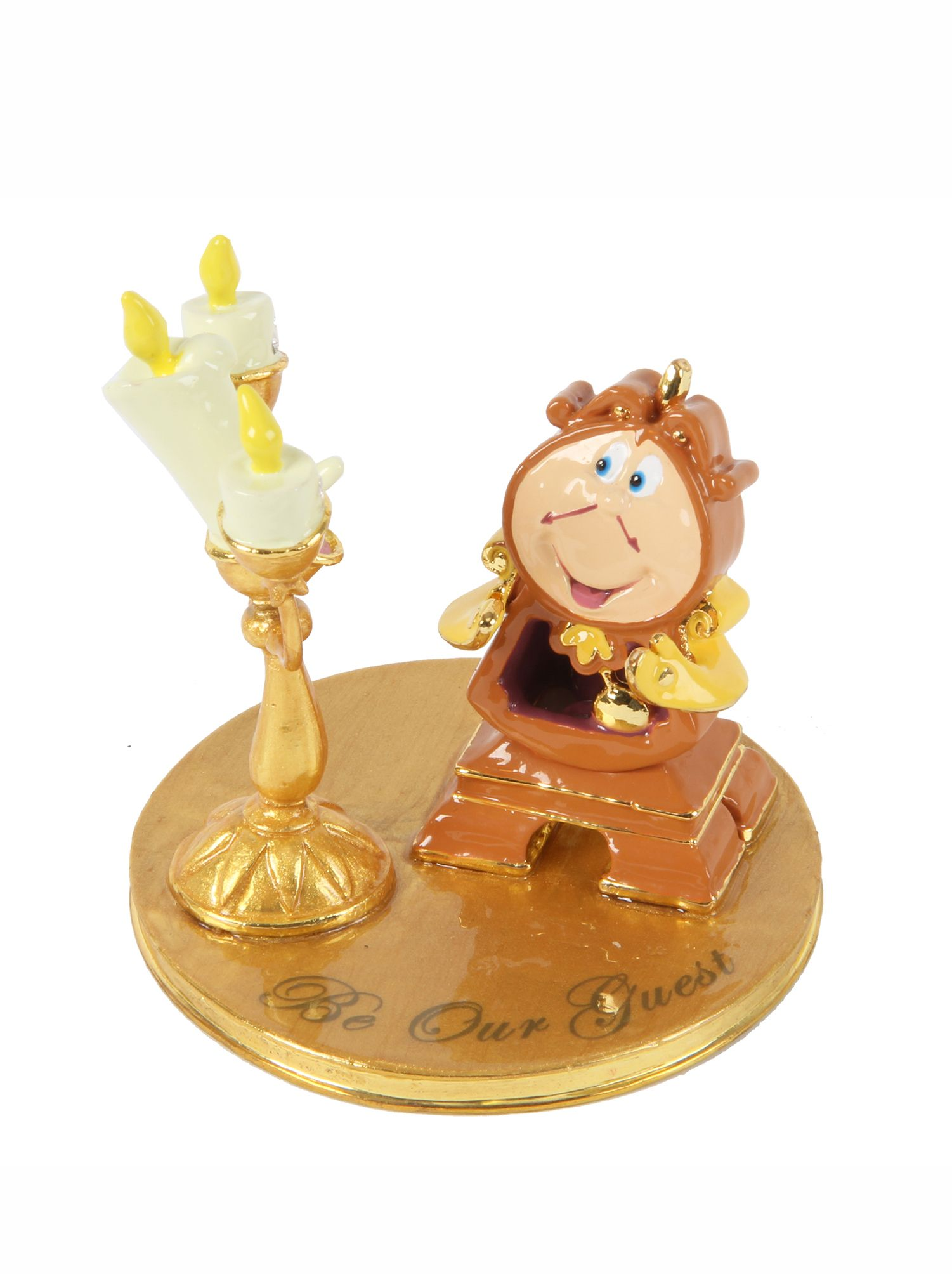 Disney disney classic lumiere cogsworth orn review for Quality classic house of fraser