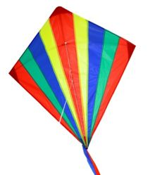 Brookite Shadow Kite with Single Flying Lines