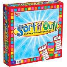 Sort it out ! Board game, N/A