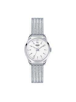 Edgware mesh bracelet watch.