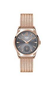 Henry London Finchley mesh bracelet watch.