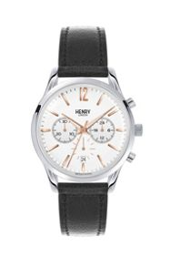 Henry London Highgate leather strap watch.