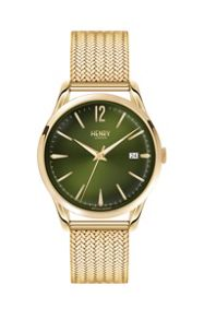 Henry London Chiswick mesh bracelet watch.