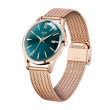 Henry London Stratford mesh bracelet watch.