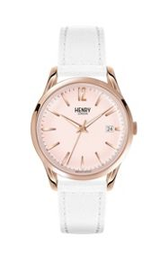Henry London Pimlico leather strap watch.