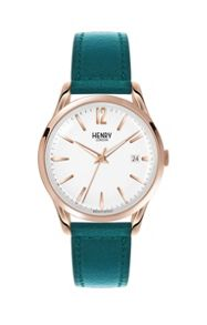 Henry London Stratford leather strap watch.