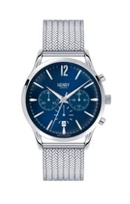 Henry London Knightsbridge mesh bracelet watch.