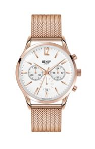 Henry London Richmond mesh bracelet watch.