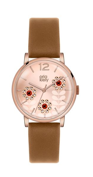 Orla Kiely OK2090 Ladies Strap Watch