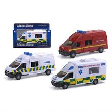 Motor zone rapid response vehicles
