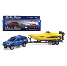 Motor zone car and speed boat