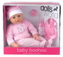 46cm soft bodied baby doll boohoo