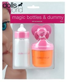 Dolls World Magic bottles & dummy set