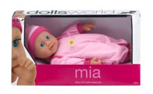 Dolls World 25cm soft bodied doll mia