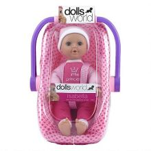 Dolls World Isabella In Carry Cot