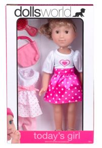 Dolls World 36cm Today`s Girl Doll