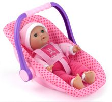 Dolls World Isabella 30cm Soft Doll & Car Seat