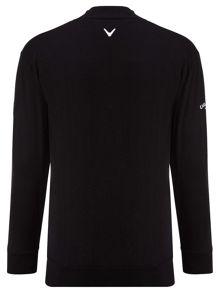 Merino mix windstopper jumper