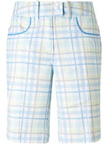 Mystic plaid short