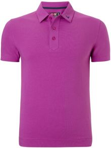 Plain Stretch Polo Shirt