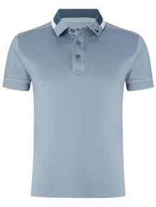 Jersey solid polo shirt