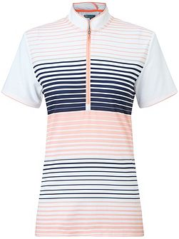 Stripe Mock Polo