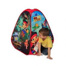 Jake & The Neverland Pirates 4 panel tent
