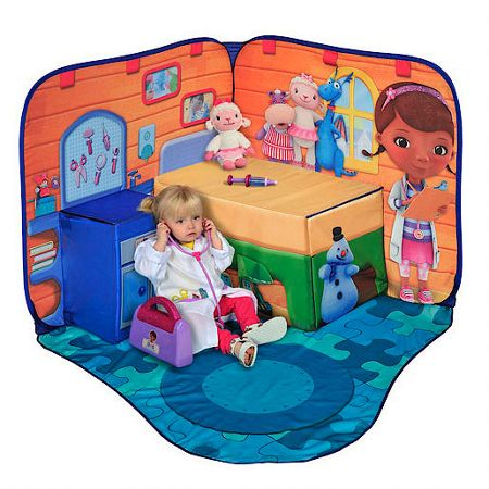 Doc McStuffins 3d playscape