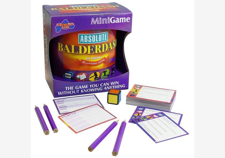 Absolute Balderdash Mini Game