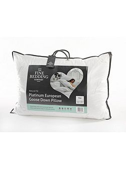 Fine Bedding Company Platinum european goose down pillow