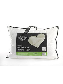 Fine Bedding Company Duck feather & down pillow