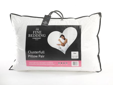 Fine Bedding Company Clusterfull pillow pair