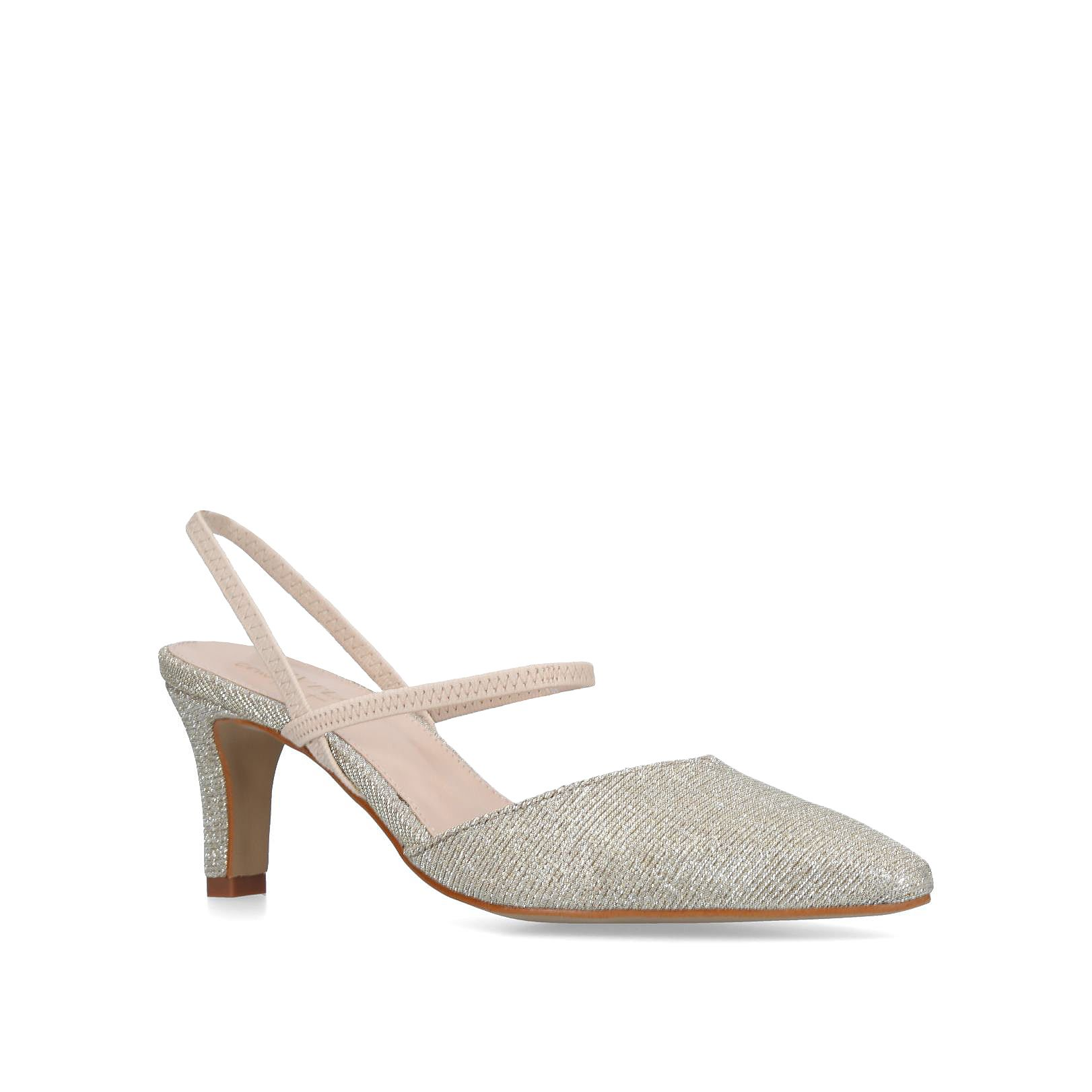 Carvela Comfort Asya Courts, Gold