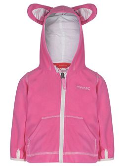 Girls Kiddo Animal Zip-Up Hoody