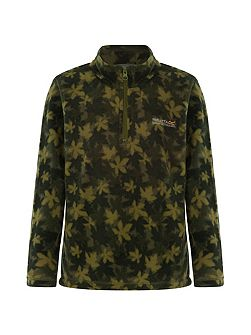 Boys Lovely Jubblie Leaf-Print Fleece