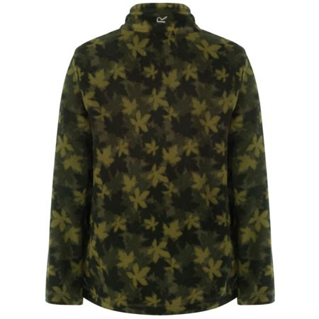 Regatta Boys Lovely Jubblie Leaf-Print Fleece
