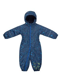 Baby Boys Printed Splat Suit