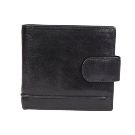 Dents Mens Waxed Leather wallet