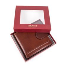 Dents Waxed Leather wallet
